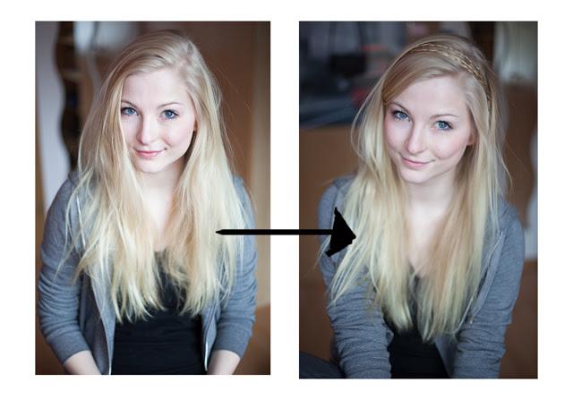 Frisuren Tutorial Der Geflochtene Haarreif Schnell Und Einfach
