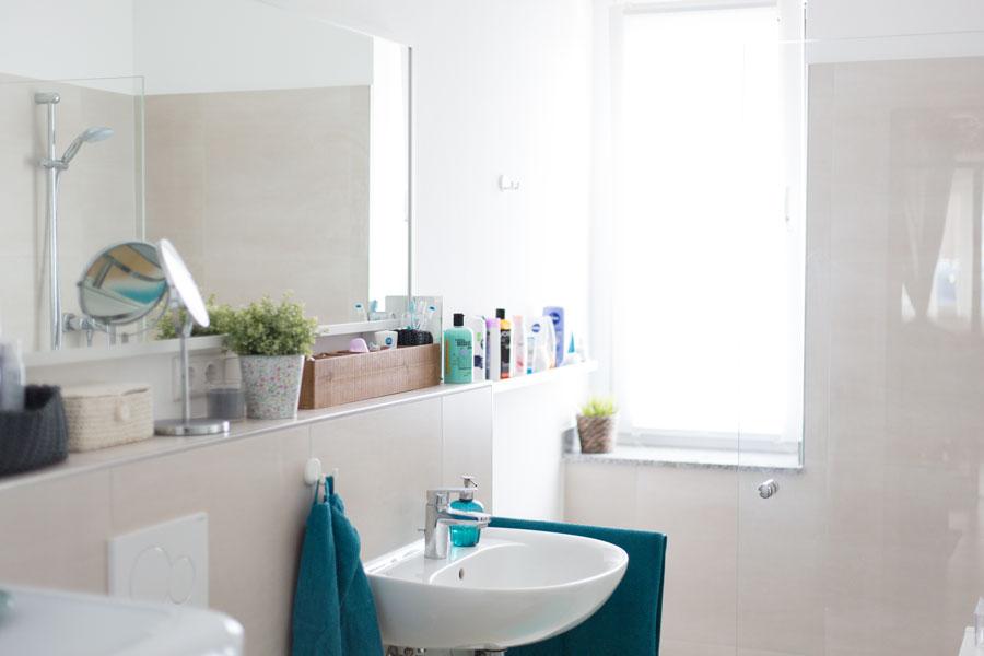 roomtour unser badezimmer. Black Bedroom Furniture Sets. Home Design Ideas