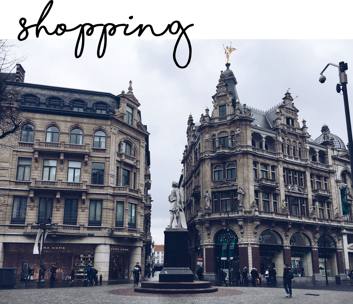 Travel guide antwerpen odernichtoderdoch for H m antwerpen